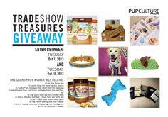 Pup Culture Mag's Tradeshow Treasures Giveaway!