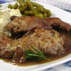 Grandpa's Rabbit Stew Ingredients: 3 pounds rabbit meat, cleaned and cut into pieces 1/2 teaspoon salt 1/3 cup all-purpose flour 1/2 pound bacon, diced 1/2 cup finely chopped shallots 1 clove garlic,...