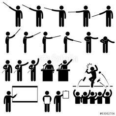 Vektor: Speaker Presentation Teaching Speech
