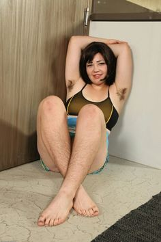 Hairy Asian Teen Poses Big 92