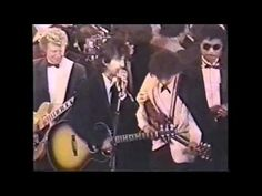 All Along The Watchtower - George Harrison, Ringo Starr, Bob Dylan Rock'n'Roll Hall Of Fame 1/20/88 - YouTube