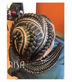 Flawless braids by @nisaraye  Read the article here - http://www.blackhairinformation.com/hairstyle-gallery/flawless-braids-nisaraye/