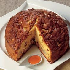 Chestnut honey and walnut cake