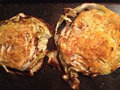 Roasted Cabbage Wedges :)