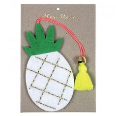 Felt Pineapple Tree Decoration By Meri Meri