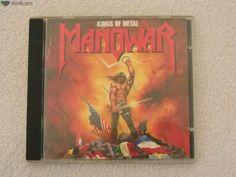 CD Kings of Metal - Manowar. Portes grátis para Portugal Continental. Possibilidade de entrega em mão na zona do Porto. Agradeço contacto por e-mail.
