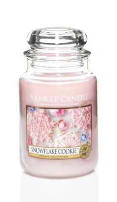 Yankee Candle Snowflake Cookie Large Jar Scented Candle Yankee Candle http://www.amazon.co.uk/dp/B00DS4OWSQ/ref=cm_sw_r_pi_dp_gHbuub0D1JYCR
