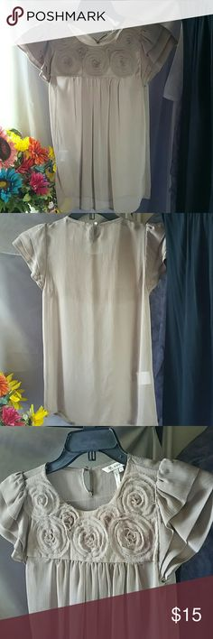 Cute blouse BCBGeneration Sheer and super cool... BCBGeneration Tops Blouses