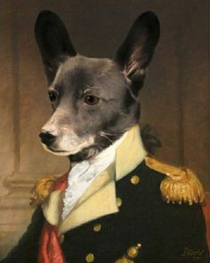 So handsome! https://www.etsy.com/listing/258709915/pet-portrait-custom-dog-portrait-custom