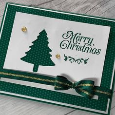 Another Perfectly Plaid Christmas Card perfect for Bulk Card Making (Stamped Sophisticates) - Happy Christmas - Noel 2020 ideas-Happy New Year-Christmas Homemade Christmas Cards, Stampin Up Christmas, Christmas Cards To Make, Xmas Cards, Holiday Cards, Plaid Christmas, Stampinup Christmas Cards, Handmade Christmas, Christmas Decor