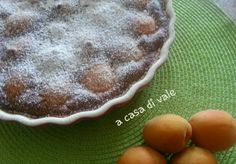 CLAFOUTIS DI ALBICOCCHE Mille Crepe, Dolce, Crepes, Pancakes, Pudding, Desserts, Baby, Food, Tailgate Desserts