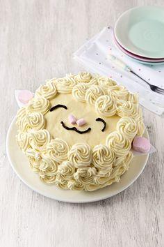 #Lamb #Easter #Cake #Recipe #AldiFavouriteThings https://www.aldi.co.uk/en/product-range/easter/our-favourite-recipes/baking-recipes/lamb-easter-cake/