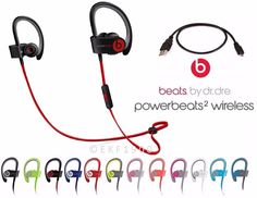 Headphones: Beats By Dr. Dre Powerbeats 2 Wireless Bluetooth Headphones + Accessories -> BUY IT NOW ONLY: $79.99 on eBay!