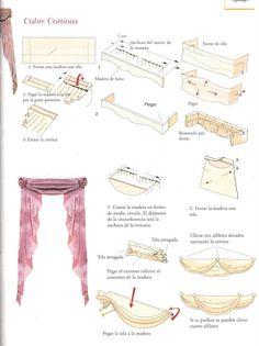 Costura - Maria Jesús - Picasa Web Albums - Curtains and pelmet part 2