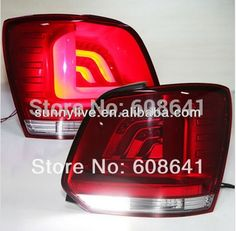 489.99$  Buy here - http://alizto.worldwells.pw/go.php?t=1829376230 - For VW CROSS  polo led tail lamp TJ 489.99$