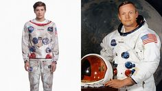 Channel Your Inner Neil Armstrong With This Astronaut Sweatsuit via @stylelistcanada
