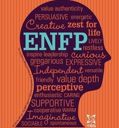 I will always remember....thanks V. I am an enfp!!!