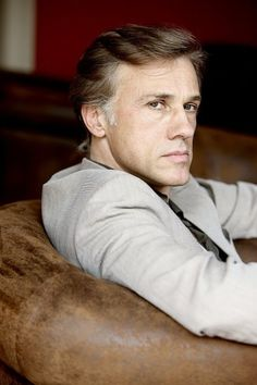 Almost Whyyyyy must I like older men. But tbh he looks like he could be in his forties? I ❤️ U Christoph Waltz Actors Male, Actors & Actresses, Hans Landa, Hot British Men, Water For Elephants, Most Handsome Actors, Christoph Waltz, Charming Man, Actrices Hollywood