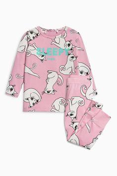 Buy Pink Cat Animal Print Pyjamas (2-12yrs) from the Next UK online shop