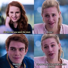 {not a real scene} roasted Archie & The post {not a real scene} roasted Archie & appeared first on Riverdale Memes. Riverdale Quotes, Bughead Riverdale, Riverdale Archie, Riverdale Funny, Riverdale Netflix, Riverdale Betty And Jughead, Riverdale Betty And Veronica, Riverdale Wallpaper Iphone, Sprouse Bros