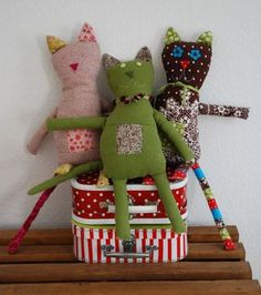 """cute-""""three faces of steve"""" pattern....          I just 'ADoRe' handmade ..."""