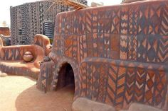 seshatarchitecture: Gurunsi architecture in...