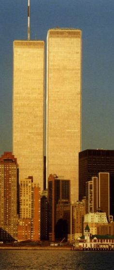How I will always remember the World Trade Center! Beautiful and strong! 9/11/01 the day a piece of all of us was taken. NEVER FORGET....:(