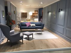 The London look by Carl Hansen & Søn.