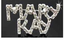 Mary Kay crystal pin
