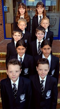 Double lessons! Five sets of identical twins start secondary school in the same year group | Mail Online