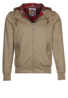 HARRINGTON HOODED - Leichte Jacke - beige