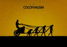 99 Steps of Progress - Colonialism by maentis 99 Steps, Power To The People, Creative Posters, Minimalist Poster, Background Pictures, Illustrations, Belle Epoque, Unique Art, Colonial