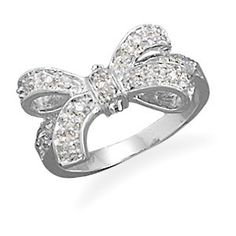 bow ring! so cute!