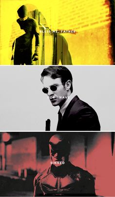 """Be careful of the Murdock boys. They got the devil in 'em."" #marvel"