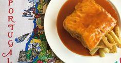 Sandwich contundente donde los haya, la francesinha merece salir de Portugal y ser conocida en el mundo entero como merienda de campeones y alivio de resacas.