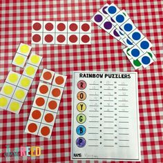 These tips, tricks, and strategies will help you introduce sums of ten in your classroom and help students master the friendly number of ten. Rainbow Facts, Rainbow Theme, Math Games, Math Activities, Maths, Math Addition, Addition And Subtraction, Math Fact Fluency, Math Crafts