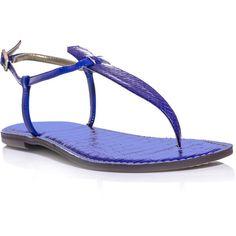 Sam Edelman Gigi sandals ($110) ❤ liked on Polyvore