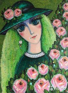 Art Paintings, Disney Characters, Fictional Characters, Aurora Sleeping Beauty, Disney Princess, Painted Canvas, Fantasy Characters, Painting Art, Disney Princesses