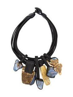 multi strand pendant necklace