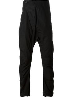 Lost And Found drop crotch trousers