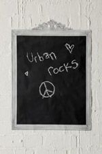 Framed Chalkboard Wall Sticker at Urban Outfitters