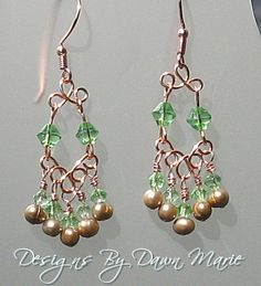 Images of Handmade Wire Jewelry | Copper Wire Jewelry - Handmade Bead Jewelry | Designs By Dawn Marie ...
