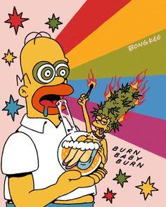 57 Ideas Wallpaper Fofos Escuros For 2019 Simpson Wallpaper Iphone, Trippy Wallpaper, Cartoon Wallpaper, Simpsons Meme, Simpsons Art, Arte Dope, Dope Art, Dessiner Homer Simpson, Trippy Cartoon