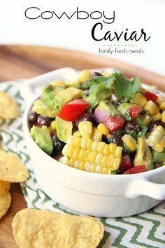 Cowboy Caviar Recipe -- FamilyFreshMeals