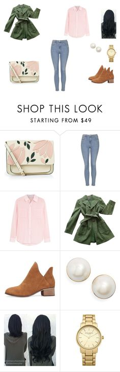 """Untitled #62"" by d-divaa on Polyvore featuring Accessorize, Topshop, Elizabeth and James, Ann Taylor and Kate Spade"