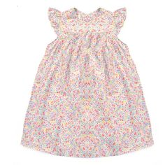 This one 1 best selling Olivier Baby & Kids dress is back! This stunning dress is the perfect choice for girls this summer. With delicate cap sleeves and buttons at the back. Complete this fabulous look with your favourite cashmere cardigan if you need one.