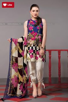 Ethnic Blooming Yard Festive 2017 Price in Pakistan famous brand online shopping, luxury embroidered suit now in buy online & shipping wide nation.Bid a Warm Welcome to Your Winter With Charizma ,Ethnic ,Maria.B ,Sobia Nazir Master Copies . Pakistani Dresses Casual, Pakistani Dress Design, Indian Dresses, Indian Outfits, Eid Outfits, African Dress, Stylish Dresses, Casual Dresses, Fashion Dresses