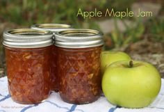 Apple Maple Jam Recipe