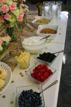 parfait bar at bridal shower brunch by Wigsbuy-reviews