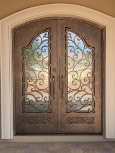 Double Front Entry Metal Doors   Having A Front Door That Is Beautiful Is  An Excellent Way To Increase The Curb Appeal Of Your House. Front Door  Hardware I